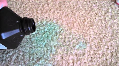 Set in Stain on Carpet how to get rid of it YouTube