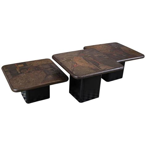 Set of Three Coffee Tables For Sale at 1stdibs