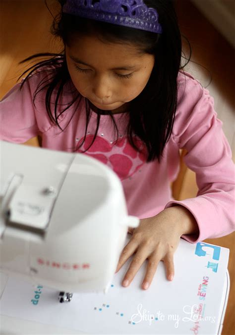 Sewing Activities For Kids Skip To My Lou