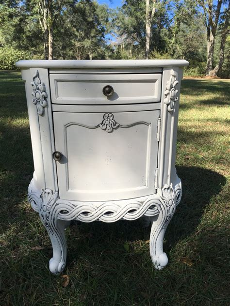 Shabby chic bedside table night stand end table