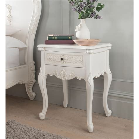 Shabby chic bedside table tables French The Bed Shack
