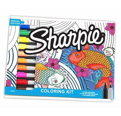 Sharpie Aquatic Coloring Kit Target