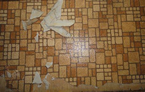 Sheet Vinyl and Vinyl Tile Flooring Containing Asbestos