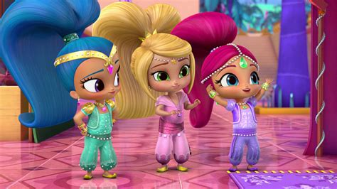 Shimmer and Shine S3 Ep303 Carpet Troubles Dragon Tales