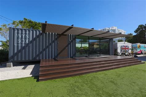 Shipping Container House Miami Shipping Container