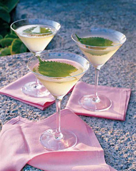 Shiso Martinis marthastewart