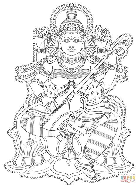 Shiva coloring page Free Printable Coloring Pages