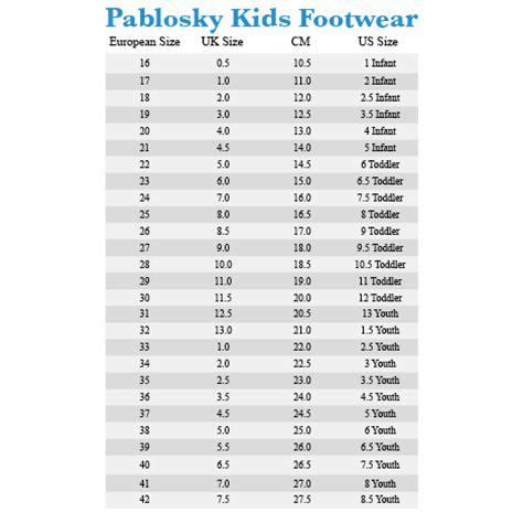 Shoe Size Conversion Zappos