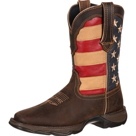 Shop American Flag cowboy boots for men from Durango Boot