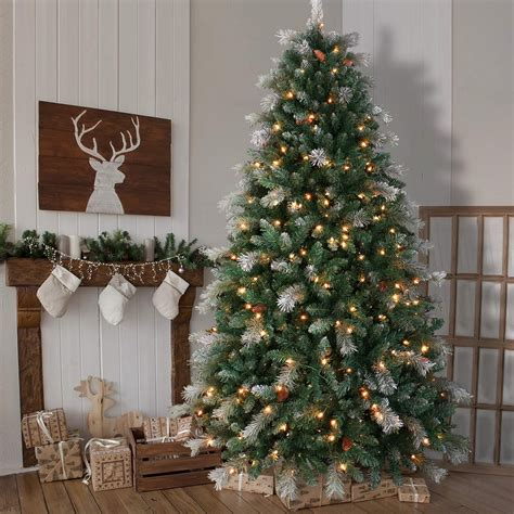Shop Atificial Christmas Trees Pre decorated pre lit
