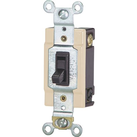 Shop Eaton 4 Way Brown Light Switch at Lowes
