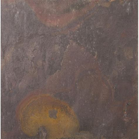 Shop Emser Rajah Slate Floor and Wall Tile Common 12 in