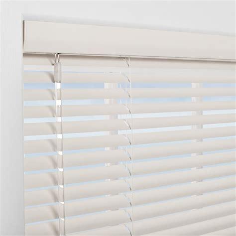 Shop Levolor 1 0 in White Aluminum Room Darkening Mini