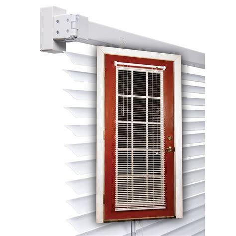 Shop MagneBlind 1 in White Aluminum Room Darkening Mini