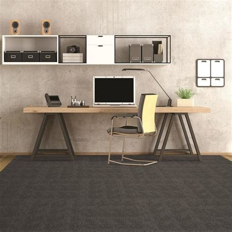 Shop Pebble Path 15 Pack 24 in x 24 in Sky Grey Needlebond