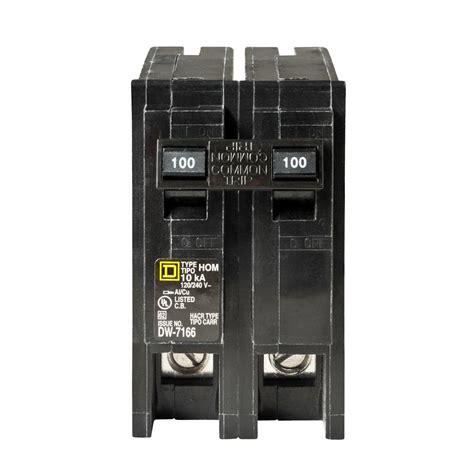 homeline load center wiring diagram images generator transfer shop square d homeline 100 amp 2 pole circuit breaker at