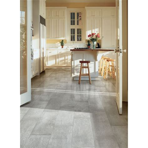 Shop Style Selections Cityside Gray Porcelain Floor and
