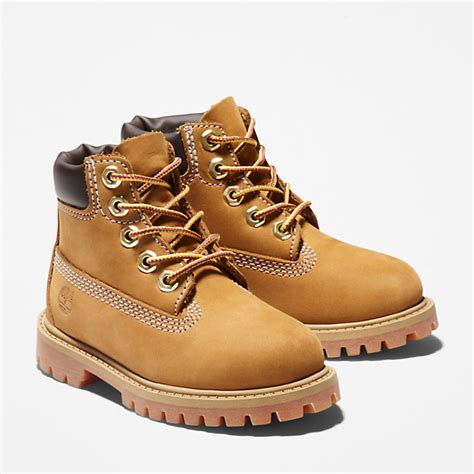 Shop Timberland Kids 6 Inch Premium Waterproof Boots