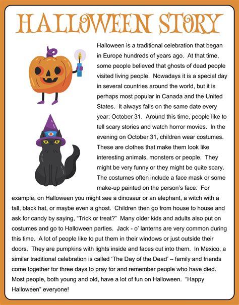 Short Halloween Stories For Kids and Children