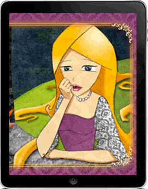 Short Stories Rapunzel by Brothers Grimm east of the web