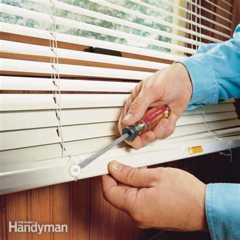 Shortening Horizontal Window Blinds Family Handyman