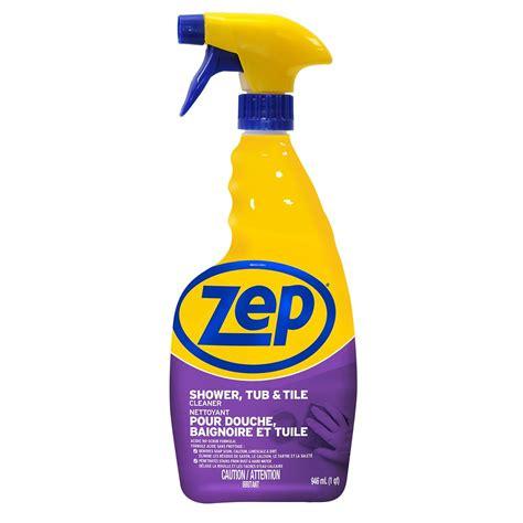 Shower Tub Tile Cleaner Details Zep Commercial