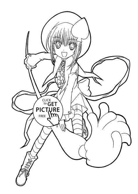 Shugo Chara Coloring Pages Pictures Images Photos