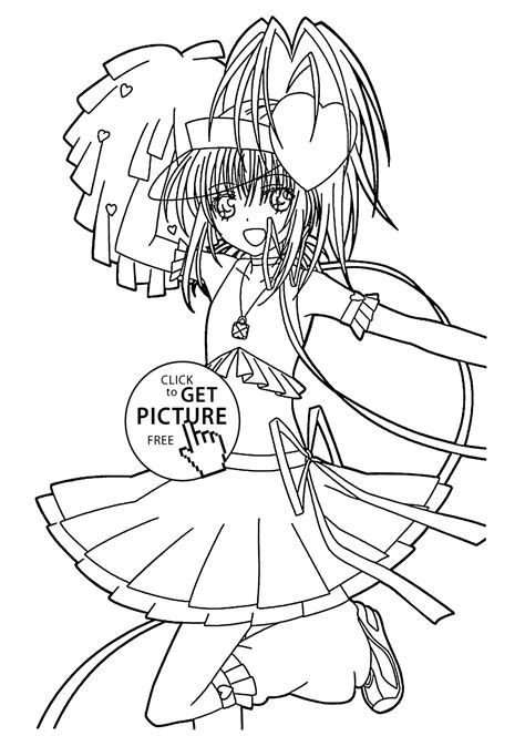 Shugo chara Online Coloring Page Kid s Search