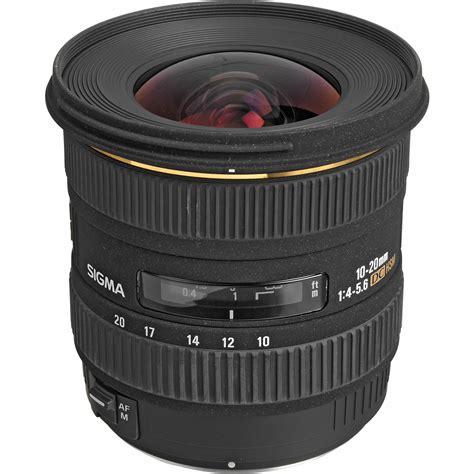 Sigma 10-20mm f/4-5.6 EX DC HSM Lens for Canon Digital SLR