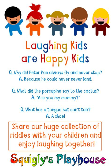 Silly Kids Riddles and Answers KidsWorldFun