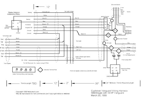 cushman eagle wiring diagram images cushman an sobr wiring silver eagle wiring diagram electric start hobby tech