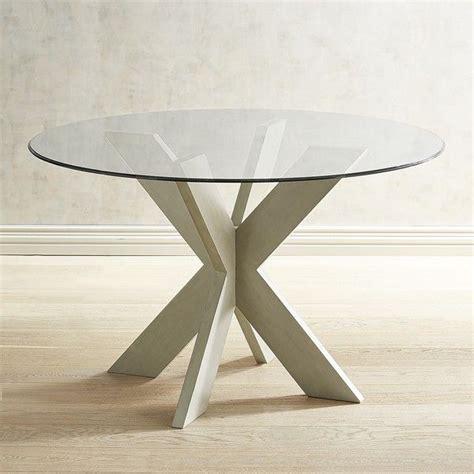 Simon Linen Gray X Dining Table Base Pier 1 Imports