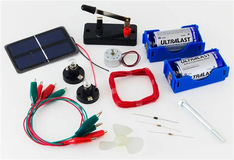 Simple Electric Circuit Project kit instructions