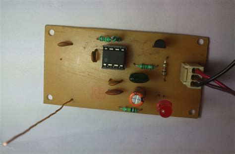 Simple Mobile Detector Circuit 6 Steps Instructables