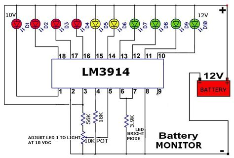 Simple battery charger circuit and battery level indicator