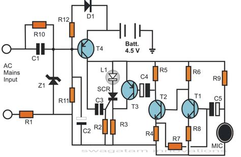Simple electronic circuits Electronic projects circuits