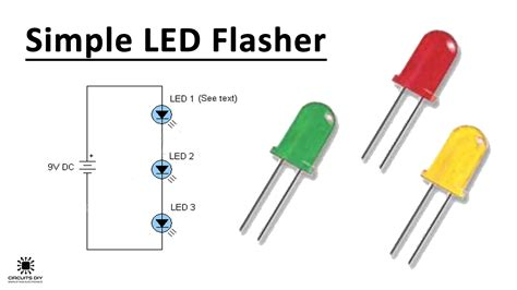Simplest LED Flasher Circuit Cappels