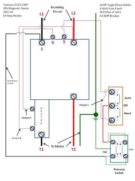 3 phase starter wiring diagram images single phase magic starter wiring diagram for motor