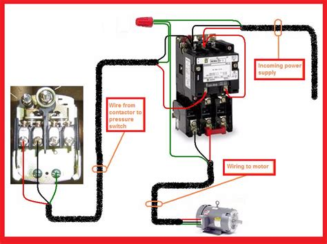 push start wiring diagram images single phase motor wiring contactor diagram