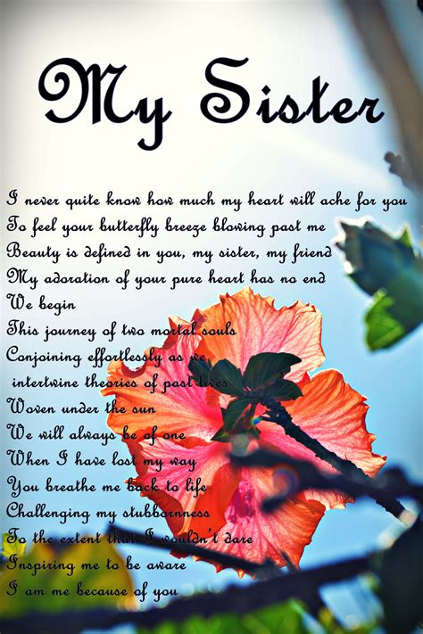 Sister Poems and Poetry