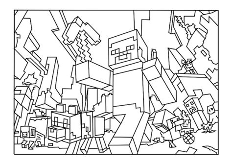 Sitemap for Minecraft Coloring Pages for Kids