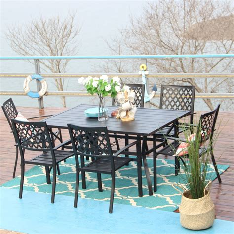 Six Person Patio Dining Sets You ll Love Wayfair
