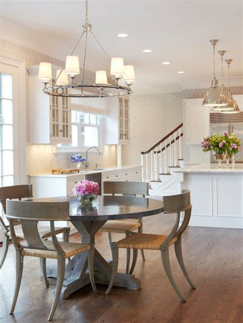 Size of light over kitchen dining table Houzz