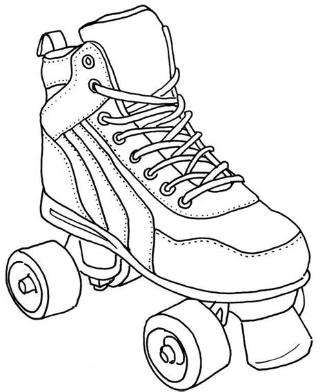Skating Coloring Pages GetColoringPages
