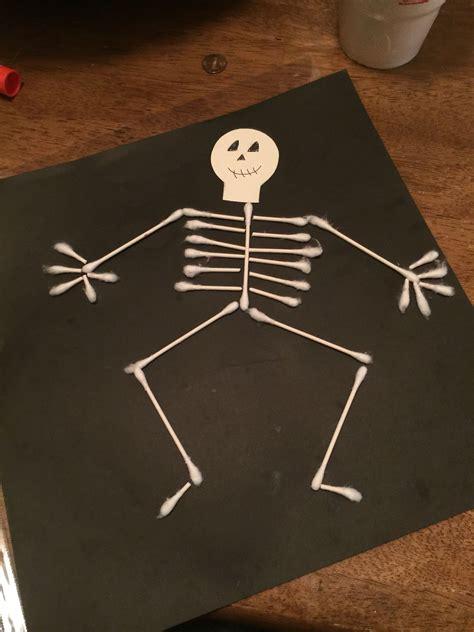 Skeleton Making Crafts for Kids Make Halloween Skeletons