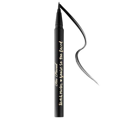 Sketch Marker Liquid Eyeliner Too Faced
