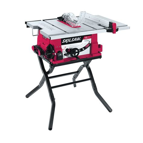 Skil 15 Amp Corded Electric 10 in Table Saw with Folding