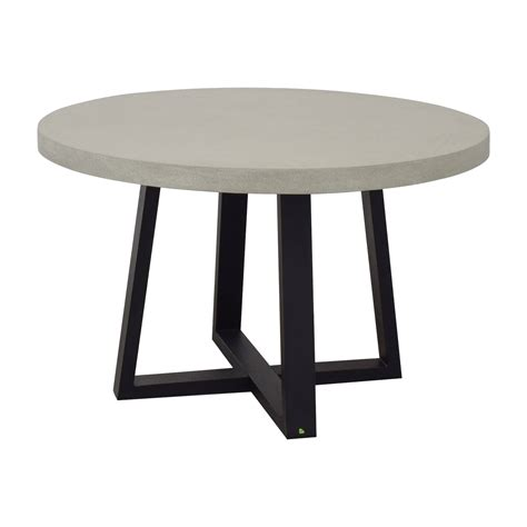 Slab Round Dining Table west elm