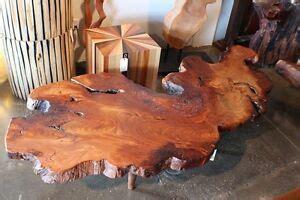 Slab Wood Coffee Table eBay