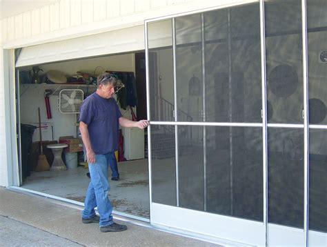 Sliding Garage Door Screen The Usage of Kits